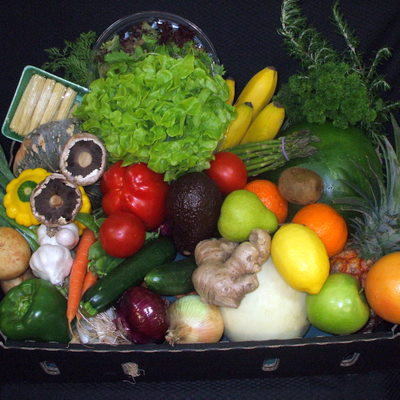 Large Gourmet Fruit and Vegetable Box