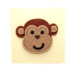 Card - Mini Size - Monkey on Lemon