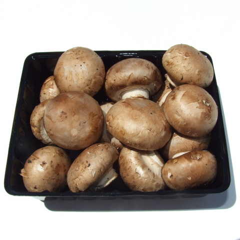 Mushrooms - Swiss Brown Buttons (200g)